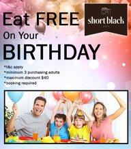 Birthday - Eat Free